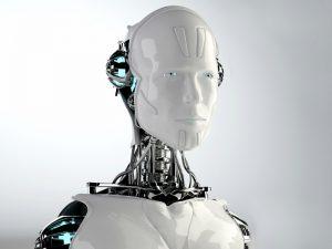 robot isolated background